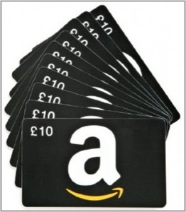 Amazon £5 or £10 voucher(1)